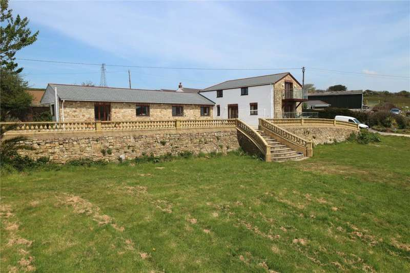 4 Bedrooms Detached House for sale in Rosewarne Downs, Camborne, Cornwall