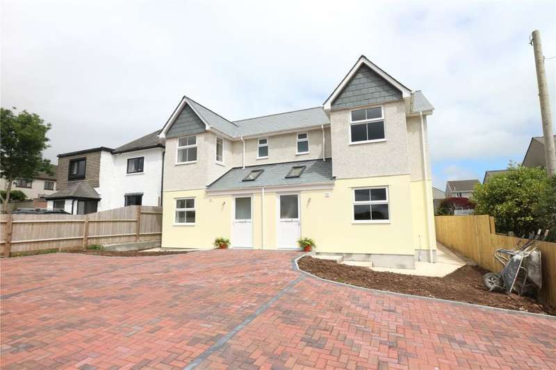 3 Bedrooms Semi Detached House for sale in Hibernia Gardens, Praze, Camborne