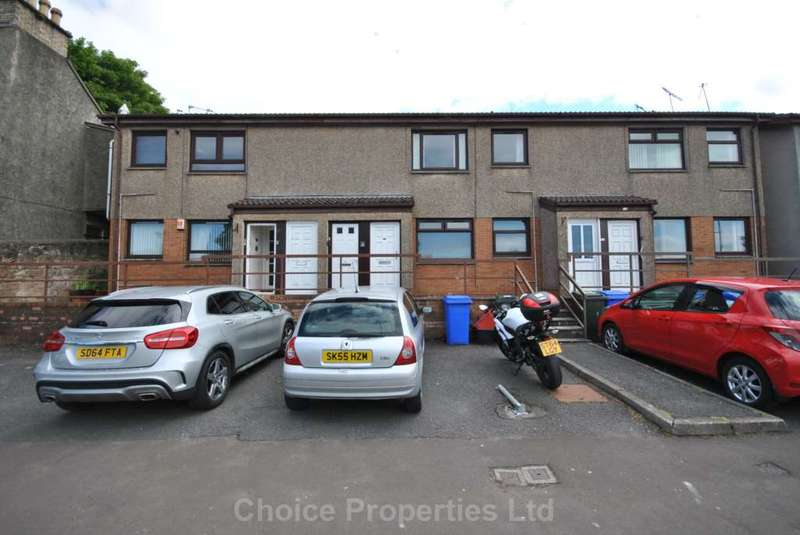 2 Bedrooms Flat for sale in Clark Street, Kilmarnock, KA1 3AJ