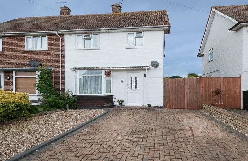 3 Bedrooms Semi Detached House for sale in Marlborough Road, Goring-by-Sea