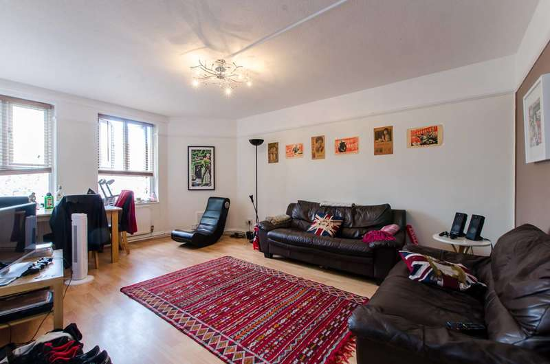 3 Bedrooms Flat for sale in New Park Road, Brixton Hill, SW2