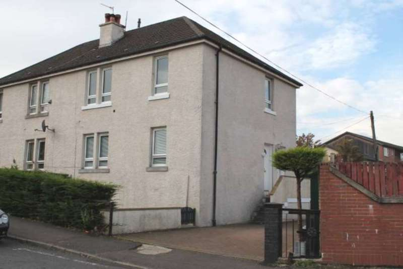 2 Bedrooms Flat for sale in Floorsburn Crescent, Johnstone