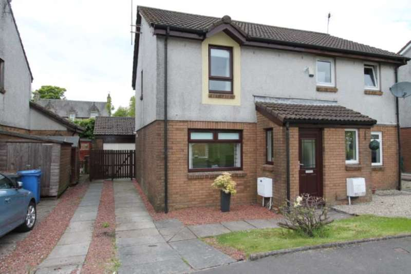 3 Bedrooms Semi Detached House for sale in Denholm Way, Beith