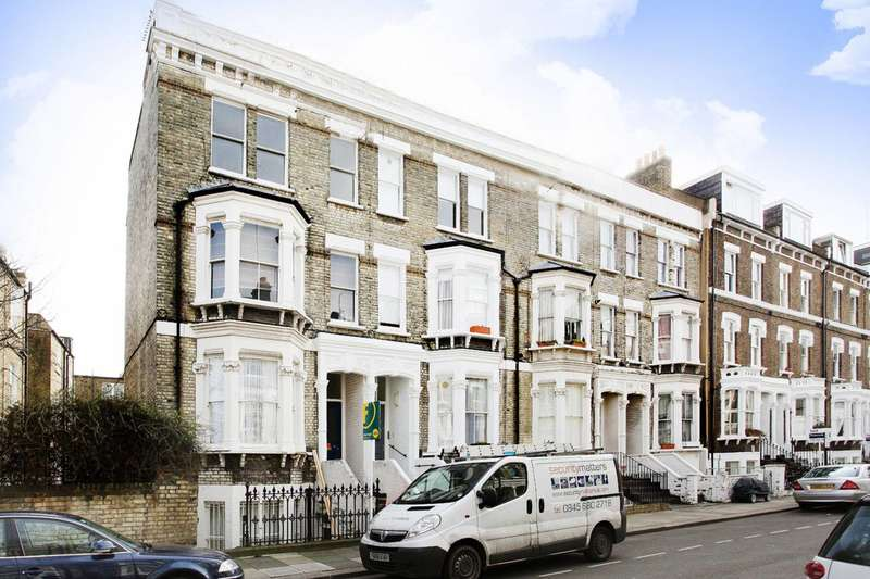 3 Bedrooms Maisonette Flat for sale in Gratton Road, Brook Green, W14