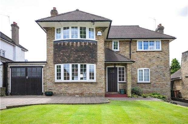 4 Bedrooms Detached House for sale in Hawthorn Road, WALLINGTON, Surrey, SM6 0SX