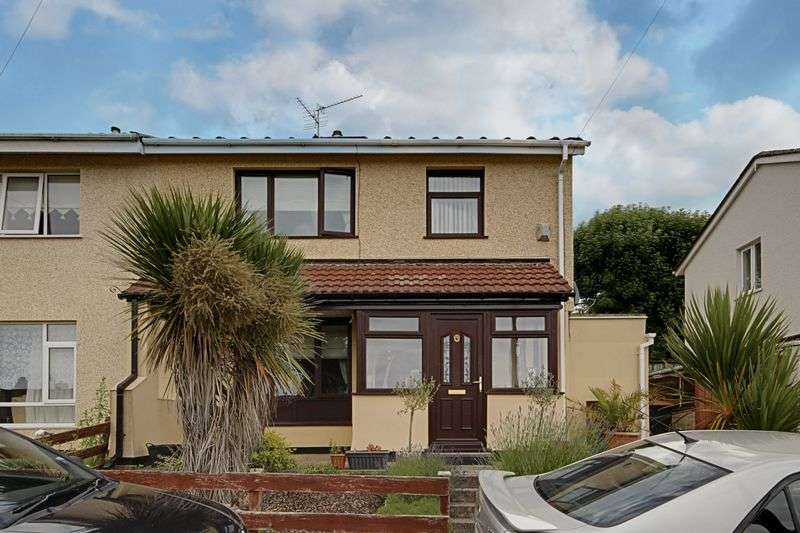 3 Bedrooms Semi Detached House for sale in Rankine Close, Newport