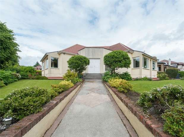 4 Bedrooms Detached Bungalow for sale in Deramore Avenue, Giffnock, Glasgow, East Renfrewshire