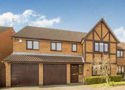 6 Bedrooms Detached House for sale in Laundon Way, Whetstone, Leicester, Leicestershire