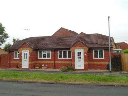 1 Bedroom Bungalow for sale in Lingfield Road, Branston, Burton-On-Trent, Staffordshire
