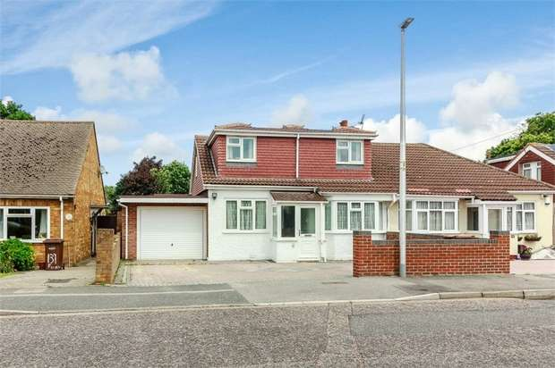 5 Bedrooms Semi Detached House for sale in Fairview Avenue, Gillingham, Kent