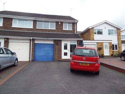 3 Bedrooms Semi Detached House for sale in Lammas Close, Solihull, West Midlands
