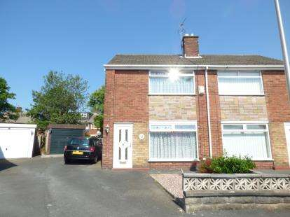 2 Bedrooms Semi Detached House for sale in Epping Close, Blackpool, Lancashire, FY2