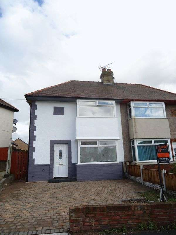 2 Bedrooms Semi Detached House for sale in Woolton Road, Liverpool