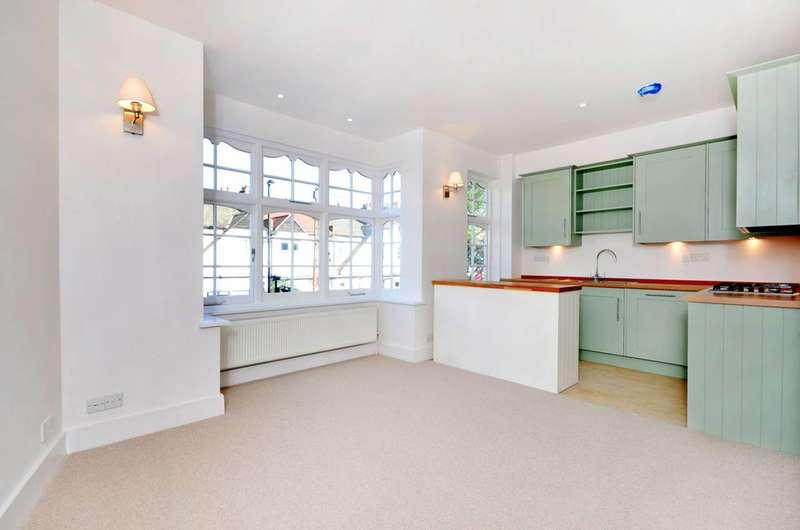 2 Bedrooms Maisonette Flat for sale in Southfield Road, Chiswick, W4