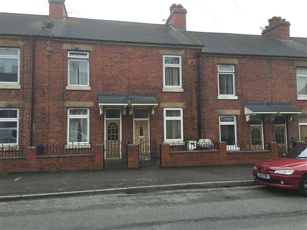 2 Bedrooms Terraced House for sale in Hickelton Terrace, Barnsley