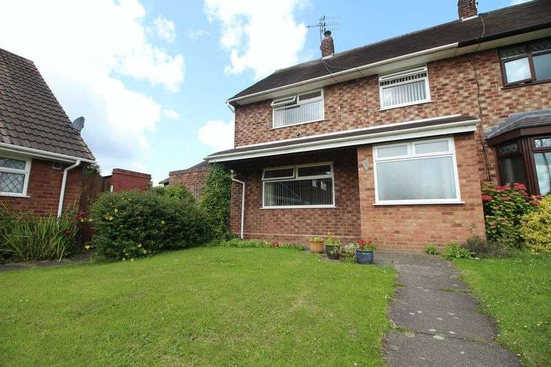 3 Bedrooms Terraced House for sale in Stretton Close, Eastham