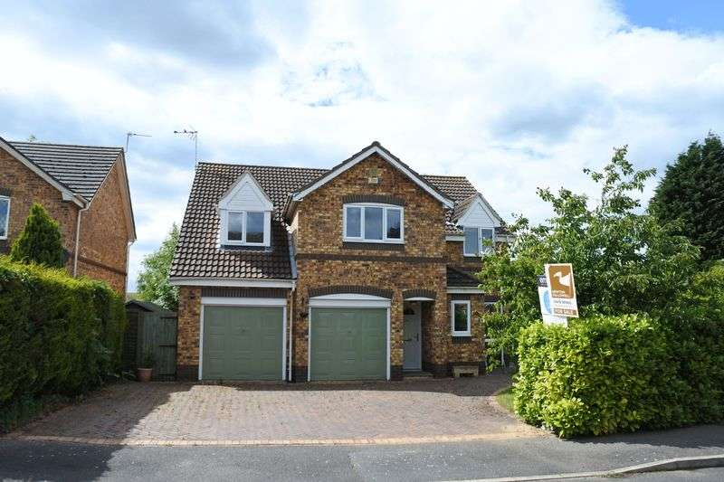 5 Bedrooms Detached House for sale in Meadowbrook, Ancaster, Grantham