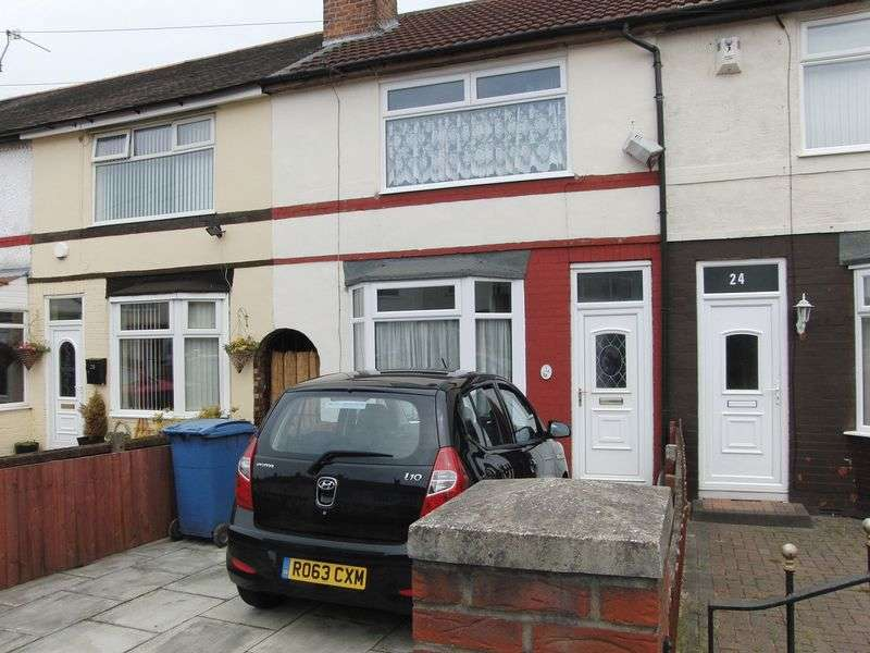 2 Bedrooms Terraced House for sale in Tilston Road, Liverpool