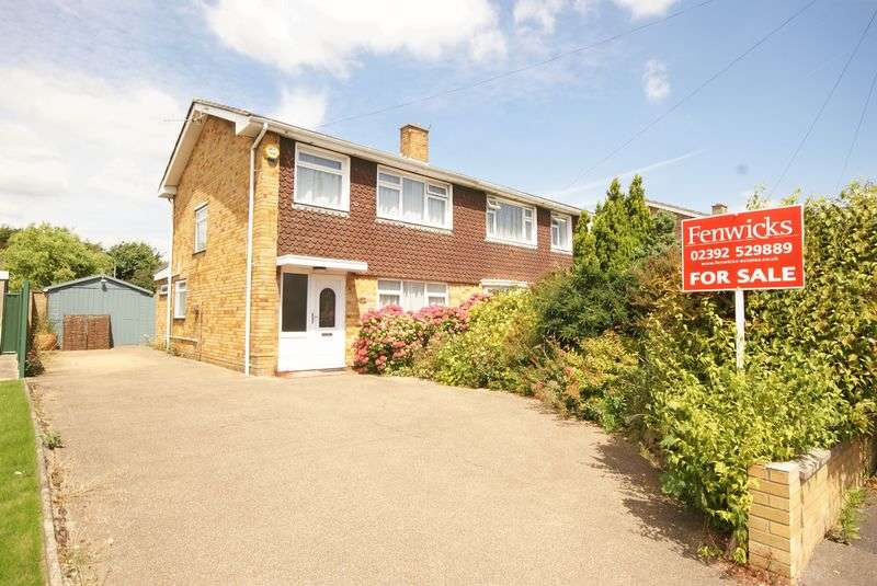 3 Bedrooms Semi Detached House for sale in Elson Road, Gosport, PO12