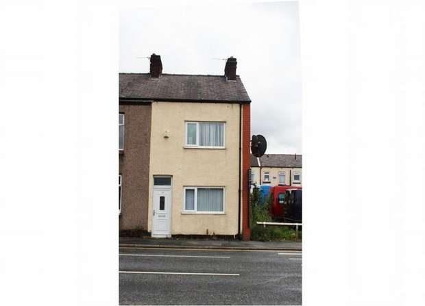 2 Bedrooms End Of Terrace House for sale in Leigh Road, Leigh, Lancashire