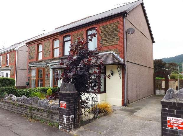3 Bedrooms Semi Detached House for sale in Wern Road, Skewen, Neath, West Glamorgan