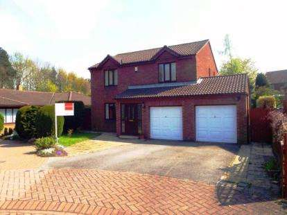4 Bedrooms Detached House for sale in Dalmahoy, Washington, Tyne and Wear, NE37