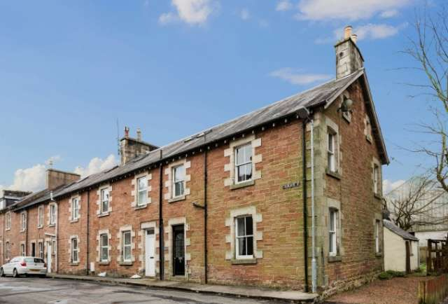 3 Bedrooms Town House for sale in Charlotte Street, Langholm, Dumfries and Galloway, DG13 0DZ