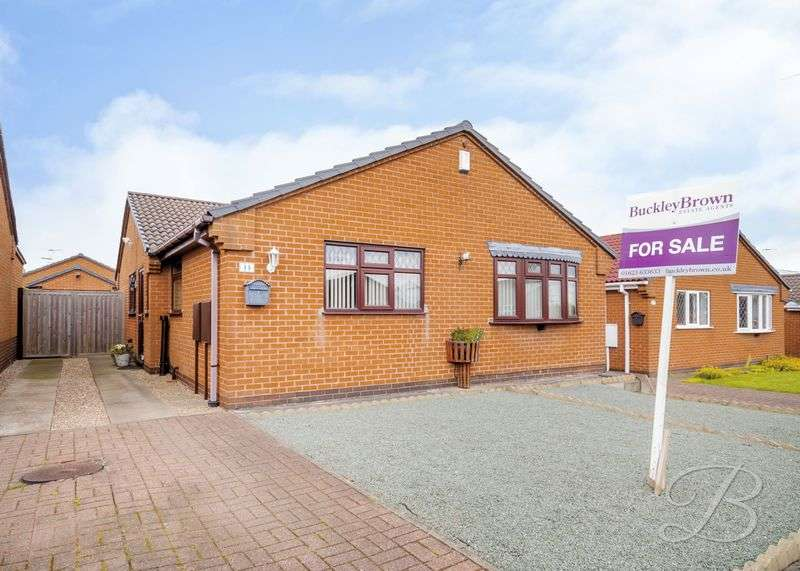 3 Bedrooms Detached Bungalow for sale in Abbott Lea, Mansfield