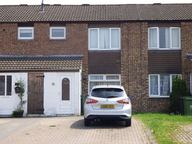 3 Bedrooms Terraced House for sale in Rodborough Drive, Worcester
