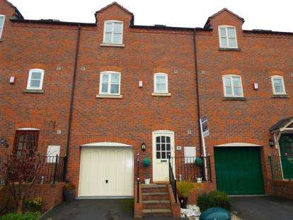 4 Bedrooms Terraced House for sale in Barbridge Mews, Old Chester Road, Barbridge, Nantwich