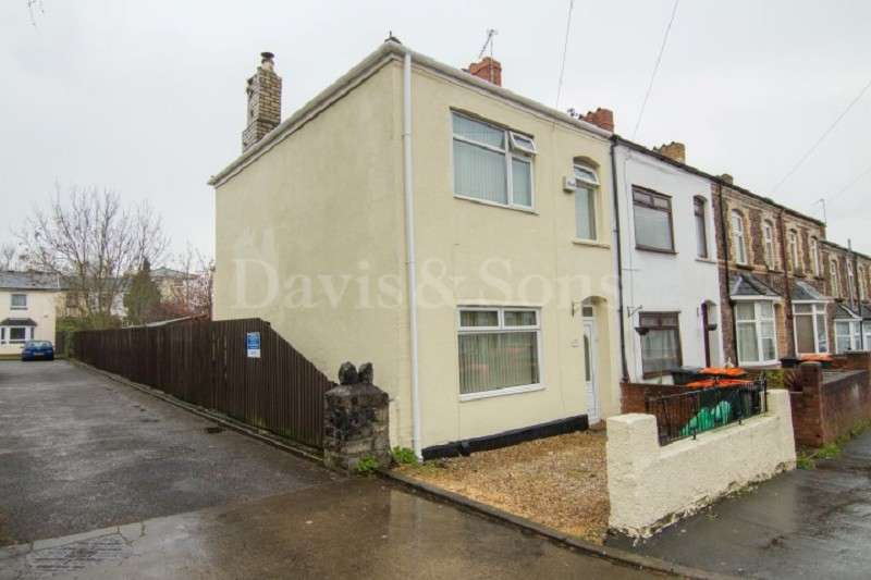3 Bedrooms End Of Terrace House for sale in Victoria Avenue, Maindee, Newport. NP19 8GF