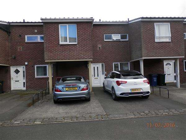 3 Bedrooms Terraced House for sale in Halling Close, Newcastle upon Tyne
