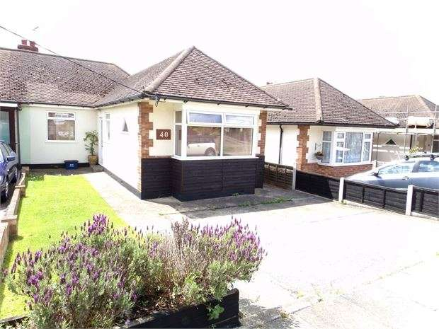 2 Bedrooms Semi Detached Bungalow for sale in Boundary Road, Leigh on sea, Leigh on sea, SS9 5BP