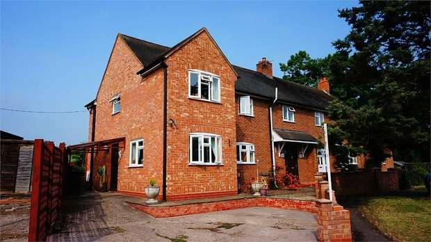 4 Bedrooms Semi Detached House for sale in Clay Green, Alfrick, Worcester