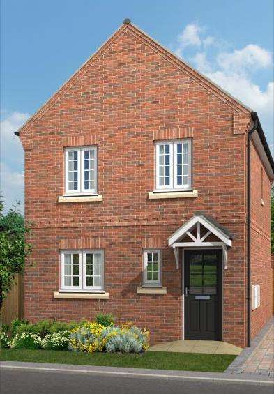 3 Bedrooms Detached House for sale in Eden View, Off Wesley Avenue, Swallownest