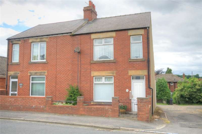 3 Bedrooms Semi Detached House for sale in Vindomora Road, Ebchester, Consett, DH8