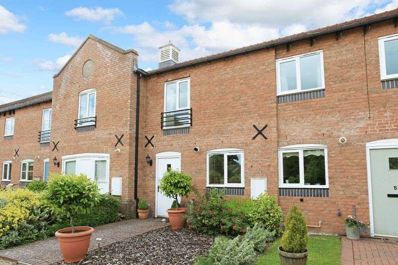 2 Bedrooms Terraced House for sale in Cumberland Mews, Broseley