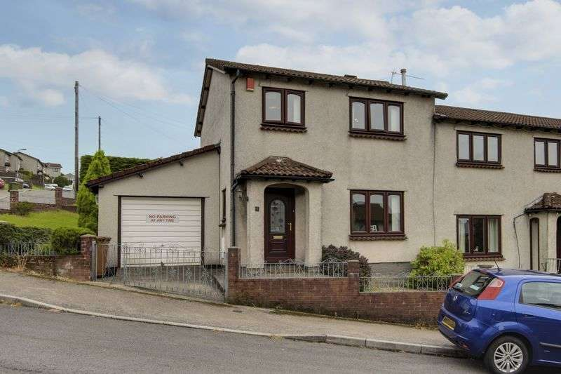 3 Bedrooms Semi Detached House for sale in Eppynt Close, Newport