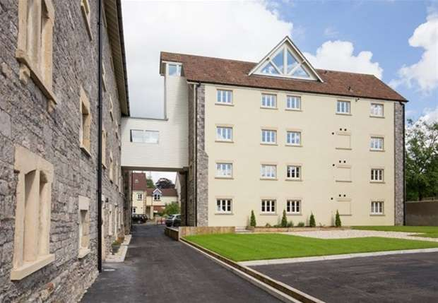 2 Bedrooms Flat for sale in Old Brewery Place, Oakhill, Radstock