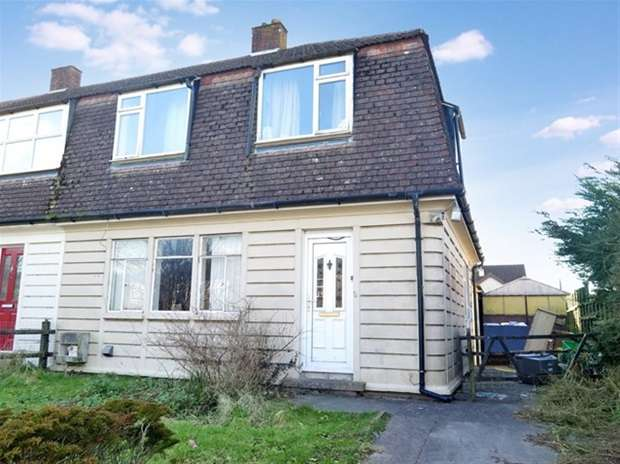 3 Bedrooms Semi Detached House for sale in Sunnymead, Oakhill, Radstock
