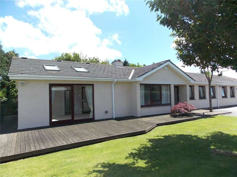 5 Bedrooms Detached Bungalow for sale in Harcourt Lane, Feock, Truro