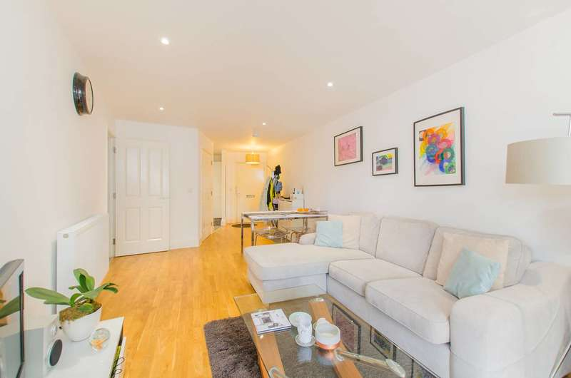 2 Bedrooms Flat for sale in Dragmore Street, Clapham, SW4