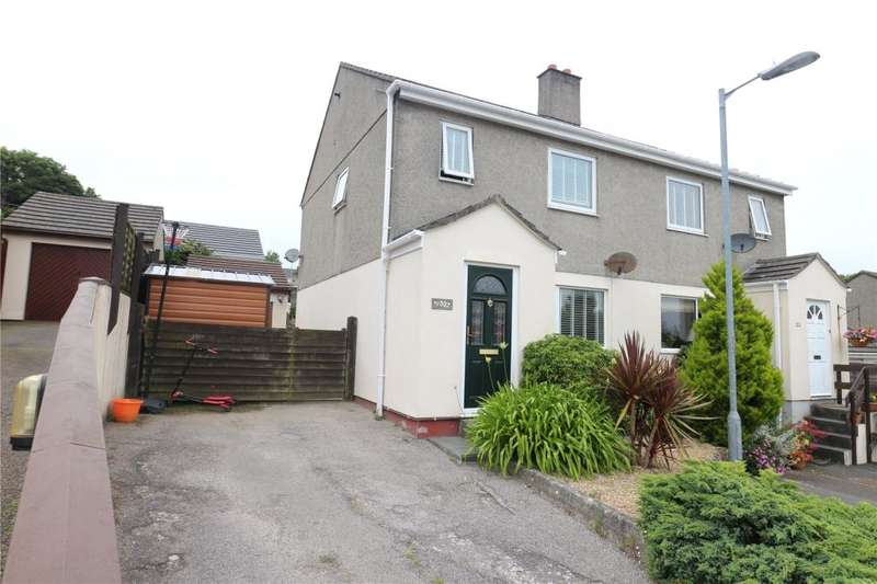 2 Bedrooms Semi Detached House for sale in Valley Gardens, Illogan, REDRUTH