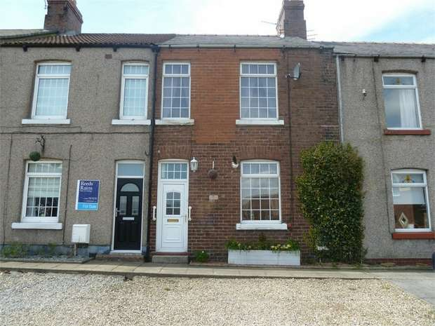 4 Bedrooms Terraced House for sale in School Row, Oakenshaw, Crook, Durham