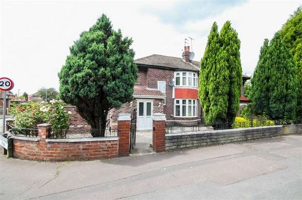 3 Bedrooms Semi Detached House for sale in Wilmslow Road, Manchester