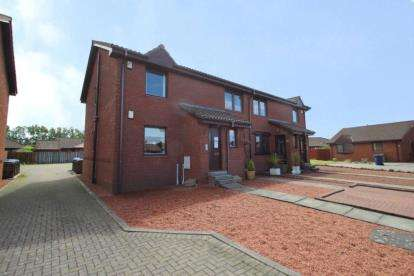 2 Bedrooms Flat for sale in Tiree Place, Stevenston, North Ayrshire
