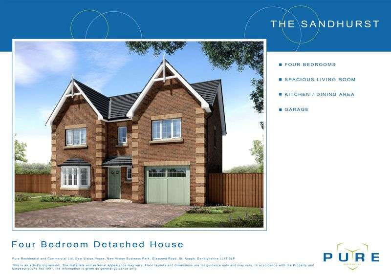 4 Bedrooms Detached House for sale in Plot 4, Dol Hyfryd, Ruthin Road, Denbigh