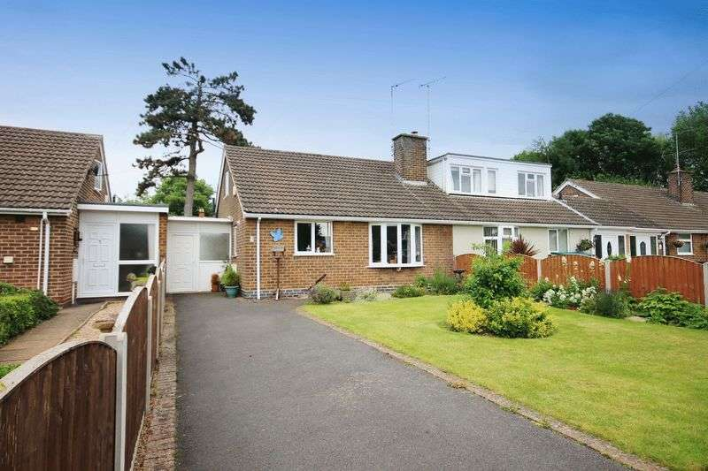 2 Bedrooms Semi Detached Bungalow for sale in STATION CLOSE. CHELLASTON