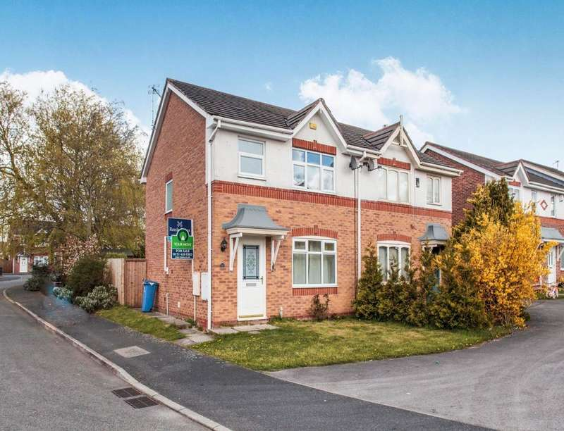 3 Bedrooms Semi Detached House for sale in Parkwood Road, Whiston, Prescot, L35