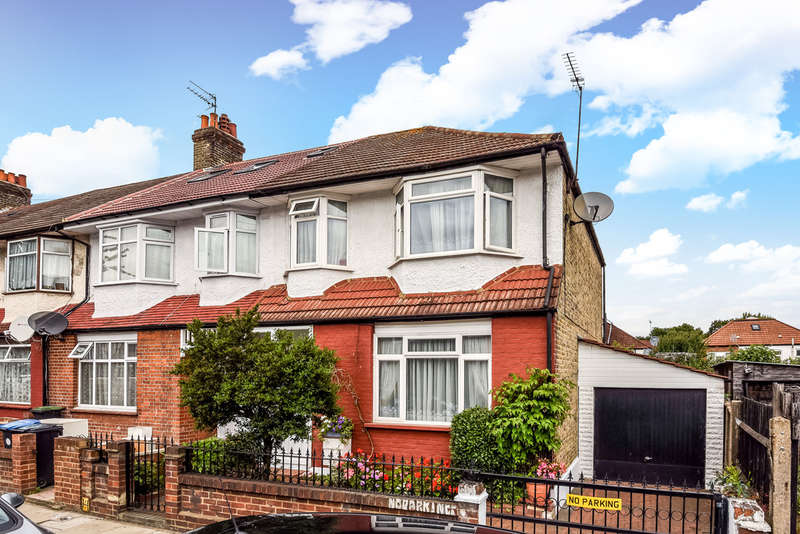 3 Bedrooms End Of Terrace House for sale in Tottenhall Road, Palmers Green